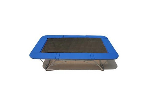 Master trampoline with Black poly bed