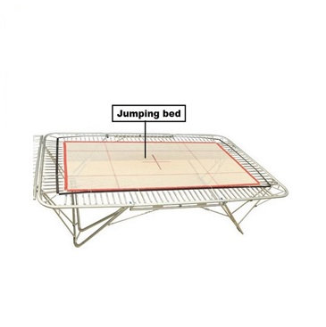 Jumping bed FIG approved