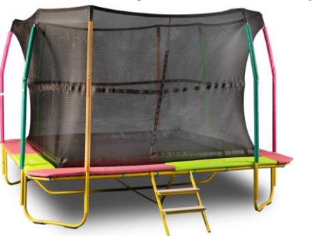Happy kids trampoline