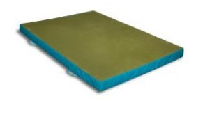 Push mat for trampoline