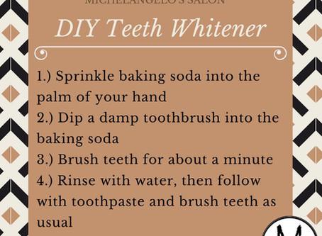DIY Teeth Whitener!
