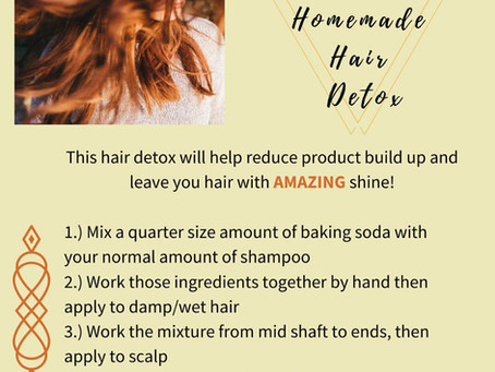 HOMEMADE HAIR DETOX