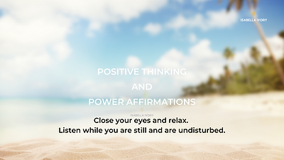 Positive Thinking and Power Affirmations.png