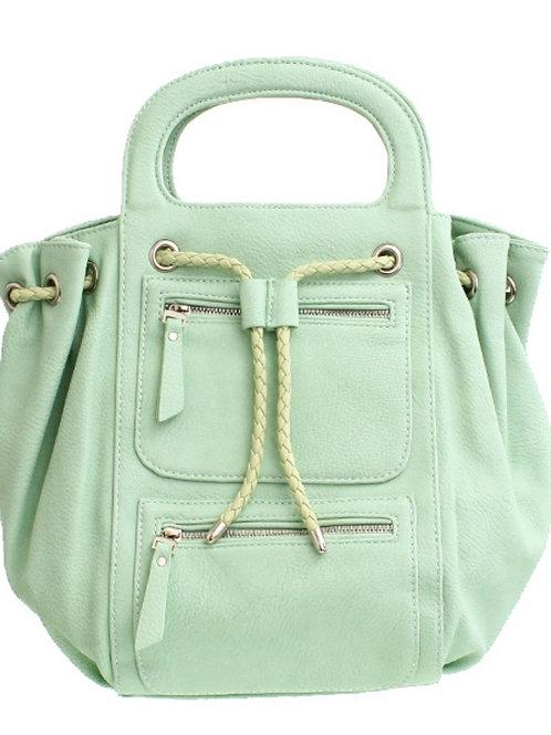 MINT GREEN BOWLING BAG