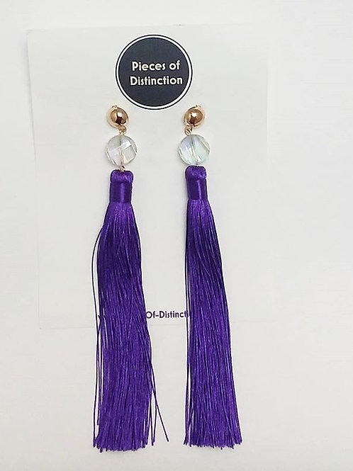 FAVS TASSELS - PURPLE