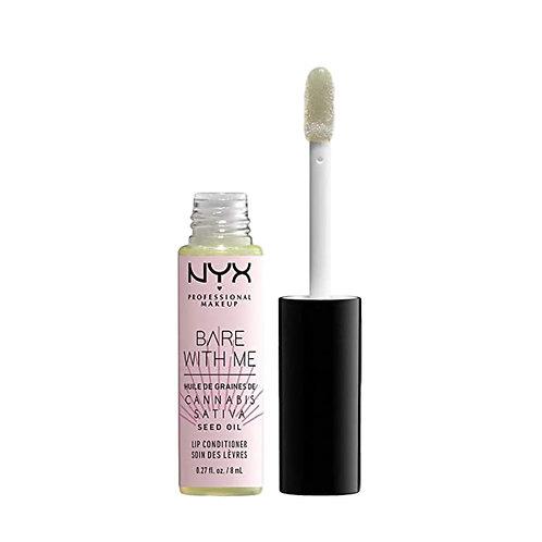 NYX Bare With Me Cannabis Sativa Seed Oil Lip Conditioner