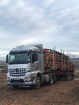 Fasque timber lorry