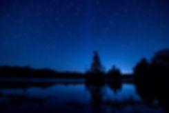 Fasque Lake at night Still Stars