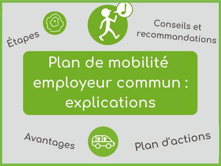 Le plan de mobilité employeur commun (PDMEC)