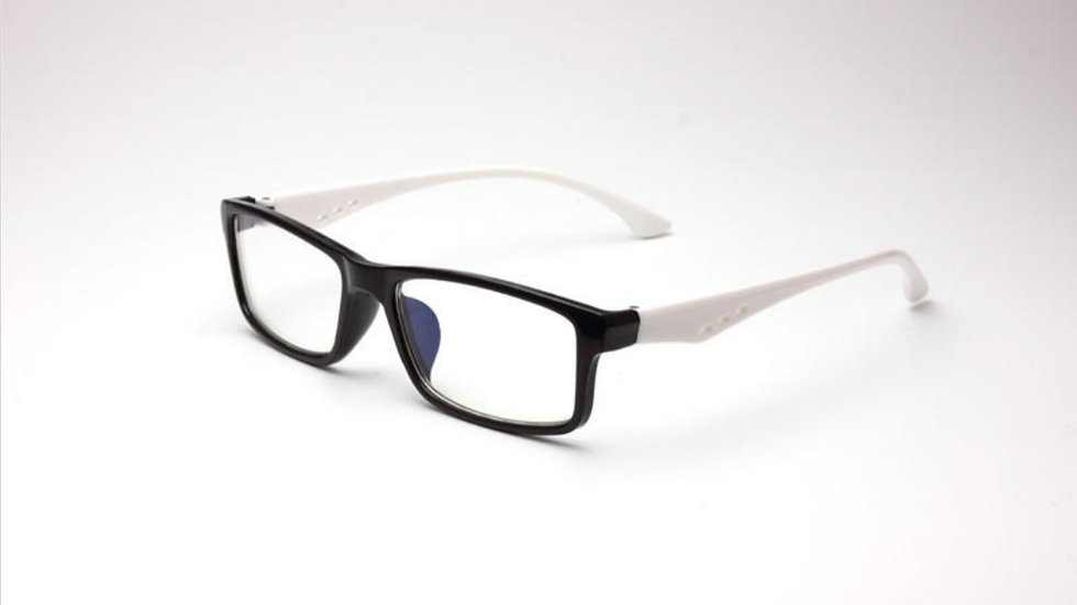 Migraine Glasses BLACK White
