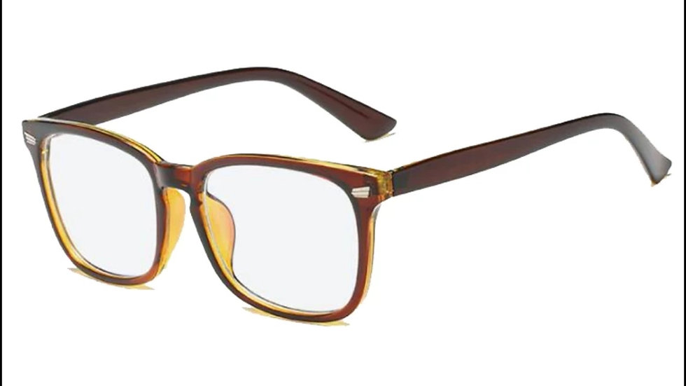 Migraine Glasses Brown Gold