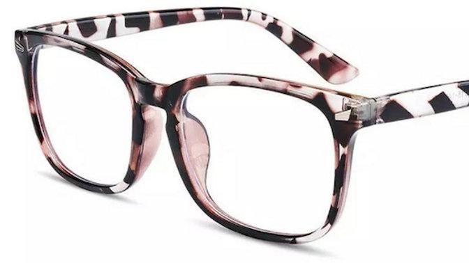 Zebra Print Migraine Glasses