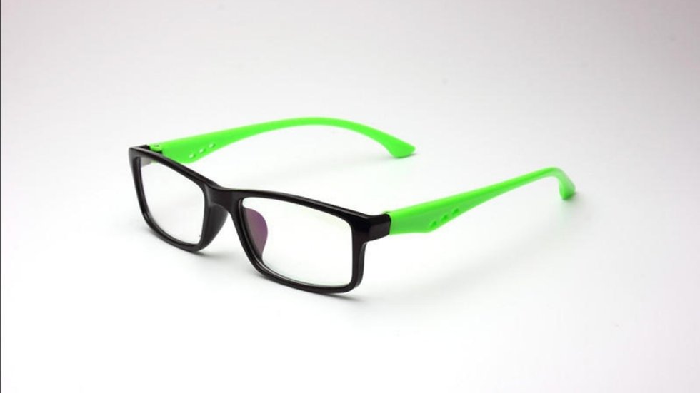 Migraine Glasses Black Green