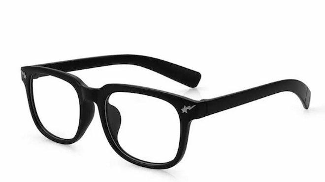 Bright Black Migraine Glasses