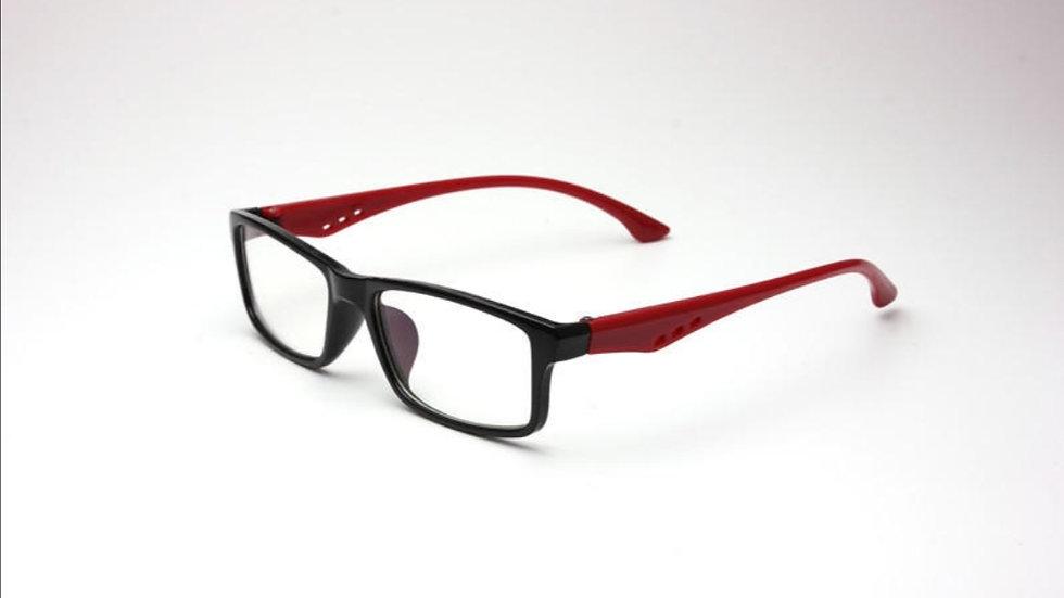 Migraine Glasses Black Red