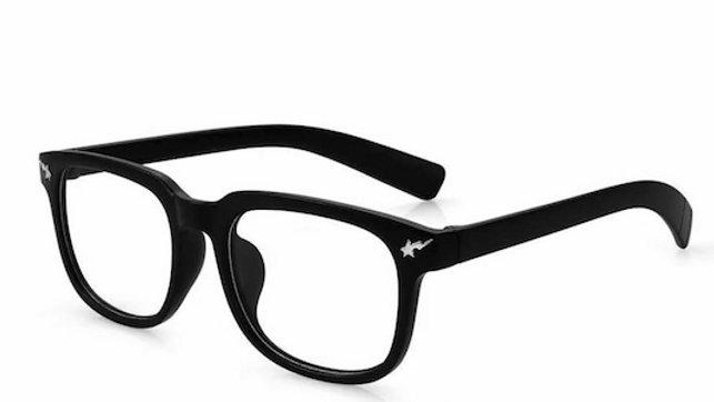 Sand Black Migraine Glasses