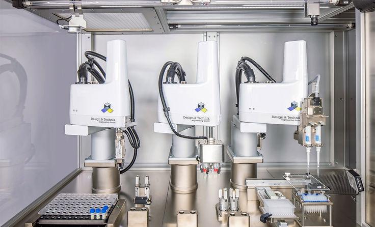 PT 600 automatische Pipettieranlage D&T Engineering GmbH