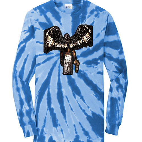 Horns and Halos Tie-Dye Longsleeve