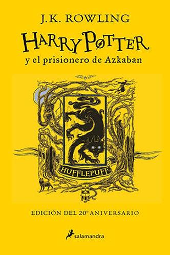 HARRY POTTER Y EL PRISIONERO DE AZKABAN EDICION HUFFLEPUFF