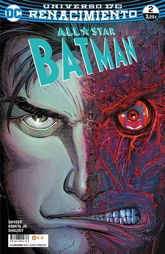 ALL-STAR BATMAN Nº 02 RENACIMIENTO