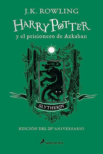HARRY POTTER Y EL PRISIONERO DE AZKABAN EDICION SLIYTHERIN