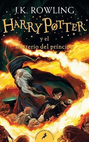 HARRY POTTER Y EL MISTERIO DEL PRINCIPE PORTADA NUEVA