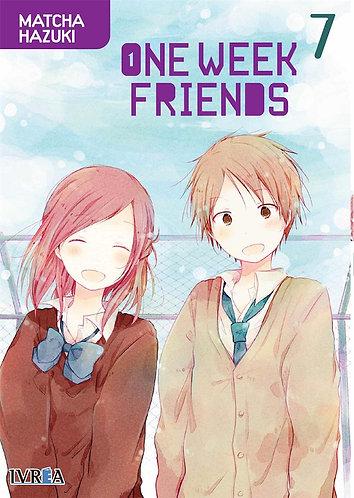 ONE WEEK FRIENDS 7