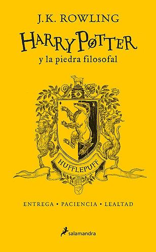 HARRY POTTER Y LA PIEDRA FILOSOFAL ED 20 AÑOS HUFFLEPUFF