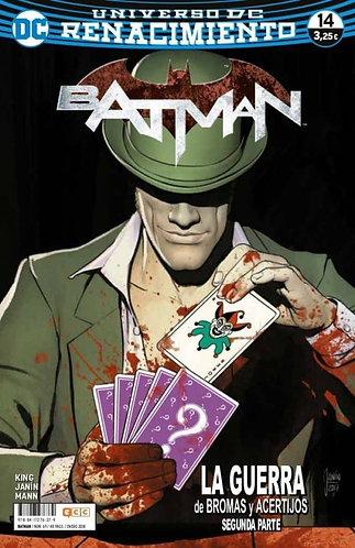 BATMAN 14 UNIVERSO RENACIMIENTO