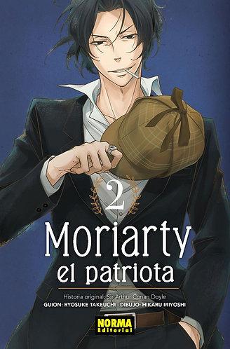 MORIARTY. EL PATRIOTA. YUKOKU NO MORIARTY 2