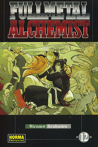 FULLMETAL ALCHEMIST 12
