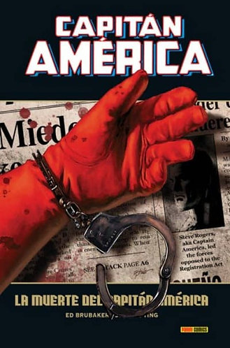 CAPITAN AMERICA 5- LA MUERTE DEL CAPITAN AMERICA