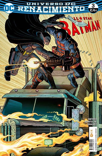 ALL-STAR BATMAN NÚM. 03 RENACIMIENTO