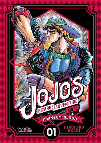 JOJO´S BIZARRE ADVENTURE PARTE 1 PHANTOM BLOOD TOMO 1