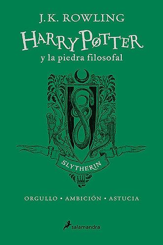 HARRY POTTER Y LA PIEDRA FILOSOFAL ED 20 AÑOS SLYTHERIN