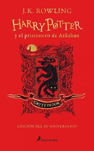 HARRY POTTER Y EL PRISIONERO DE AZKABAN EDICION GRYFFINDOR