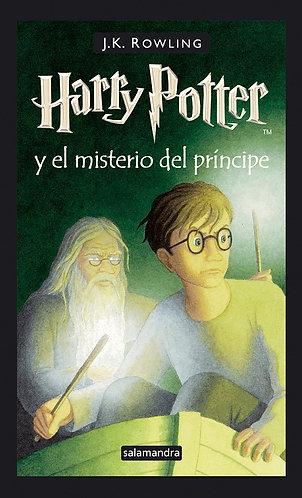 HARRY POTTER Y EL MISTERIO DEL PRINCIPE  PORTADA ANTIGUA