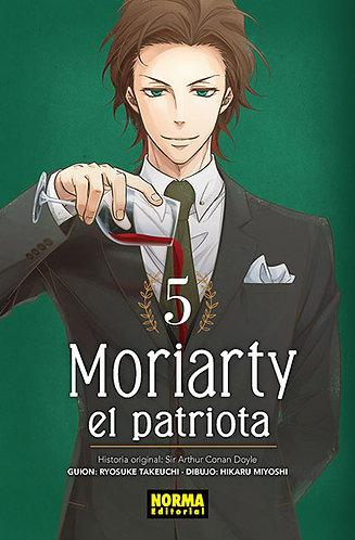MORIARTY. EL PATRIOTA. YUKOKU NO MORIARTY 5