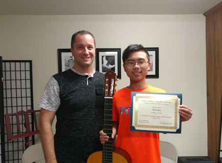 2018 GEM (Guitar Excellence and Mastery) Assessment Awards