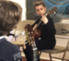 Image of Guitar Academy of Southern DE student recital