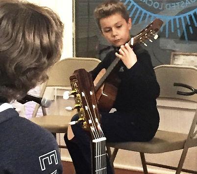 Image of Guitar Academy of Southern DE student recital