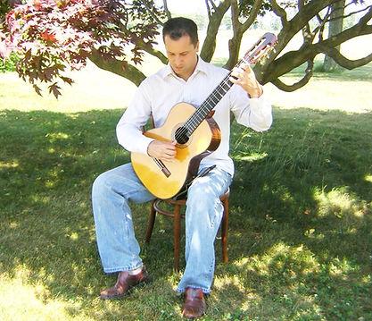 Douglas Seth plays and teaches classical guitar in Seaford DE