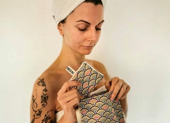 Kit dischetti eco riutilizzabili - Eco make-up remover cotton pads