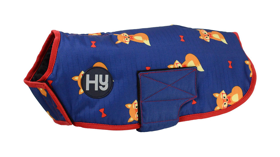 Fraser the Fox Waterproof Dog Coat