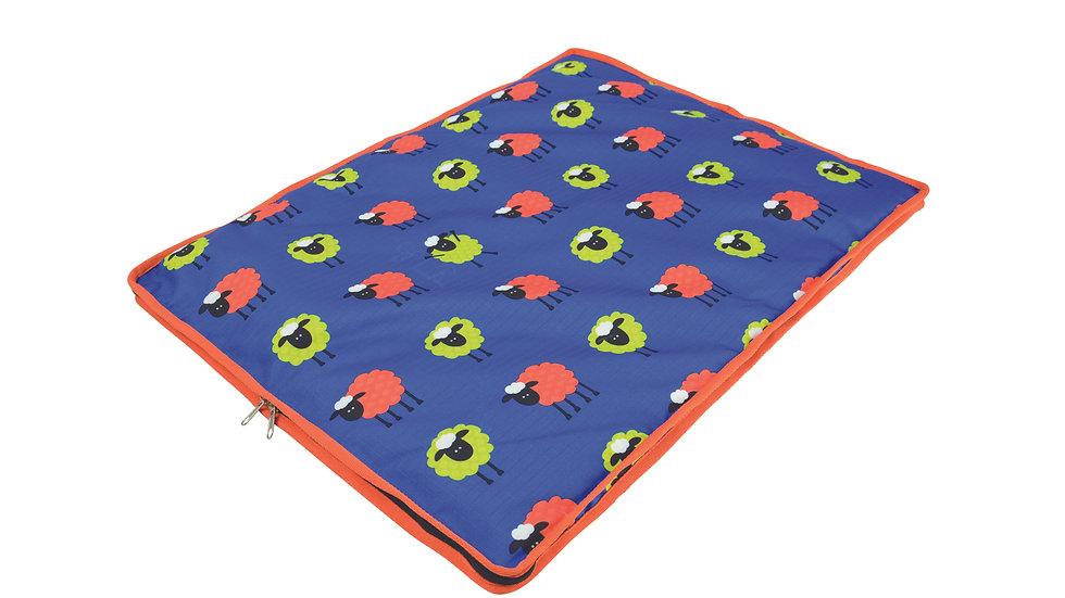 Hy Simon the Sheep Print Dog Bed
