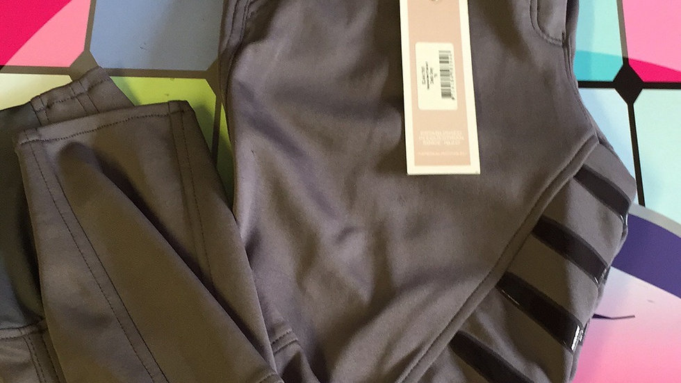 Imperial Riding Grey Silicon Seat Breeches