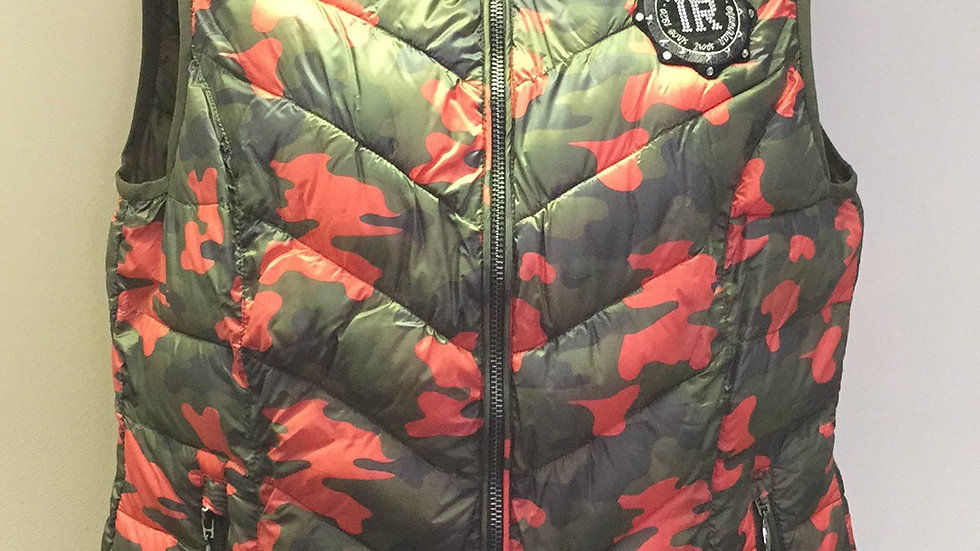 Imperial Riding Pink/Camo Body Warmer