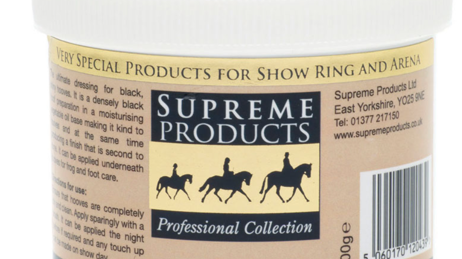 Supreme Products Black Hoof Gloss