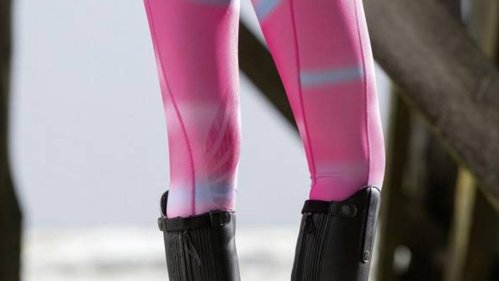Riding Leggings Silicon Knee