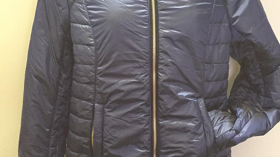 Imperial Riding Metallic Navy padded jacket